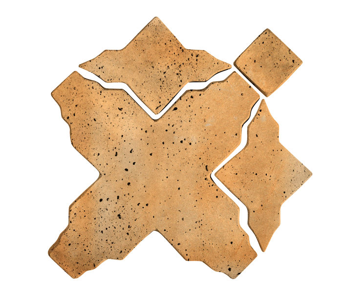 Artillo Arabesque 3 Sonora Sunset Travertine