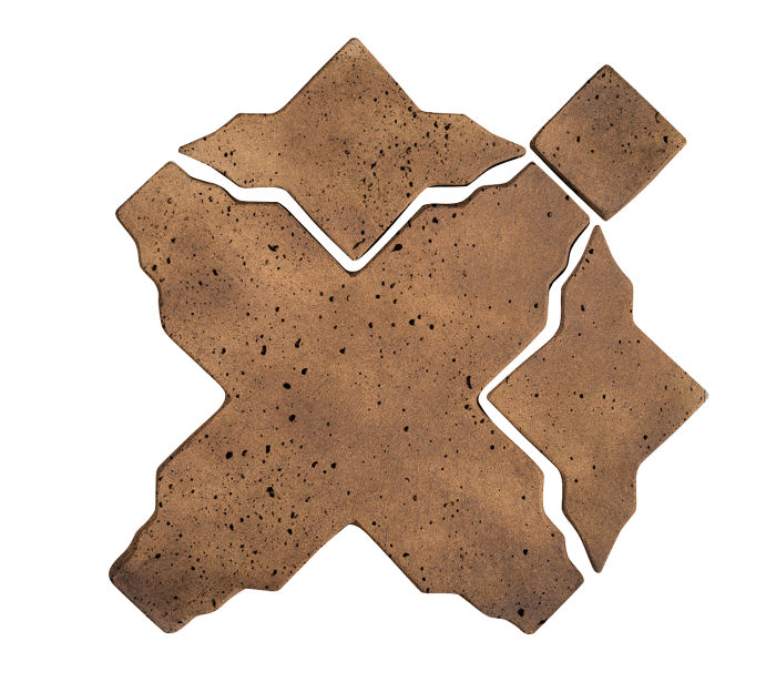 Artillo Arabesque 3 Tuscan Mustard Travertine
