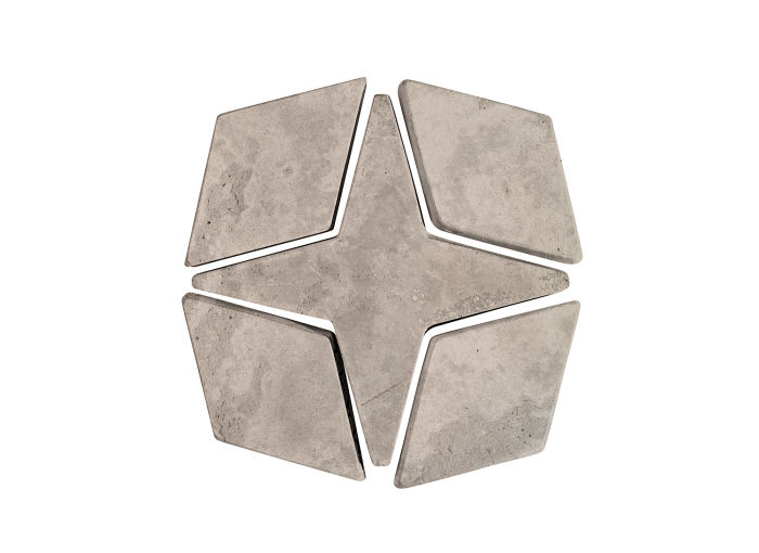 Artillo Arabesque 4 Natural Gray Limestone