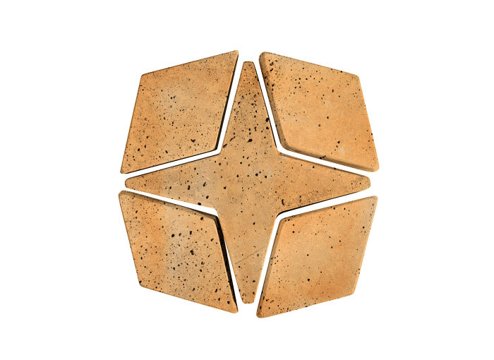 Artillo Arabesque 4 Sonora Sunset Travertine