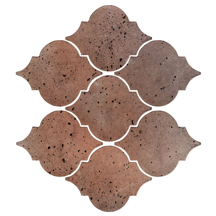 Artillo Arabesque 5A Beachwood Flash Travertine