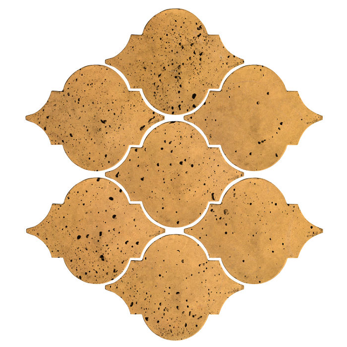 Artillo Arabesque 5A Buff Travertine