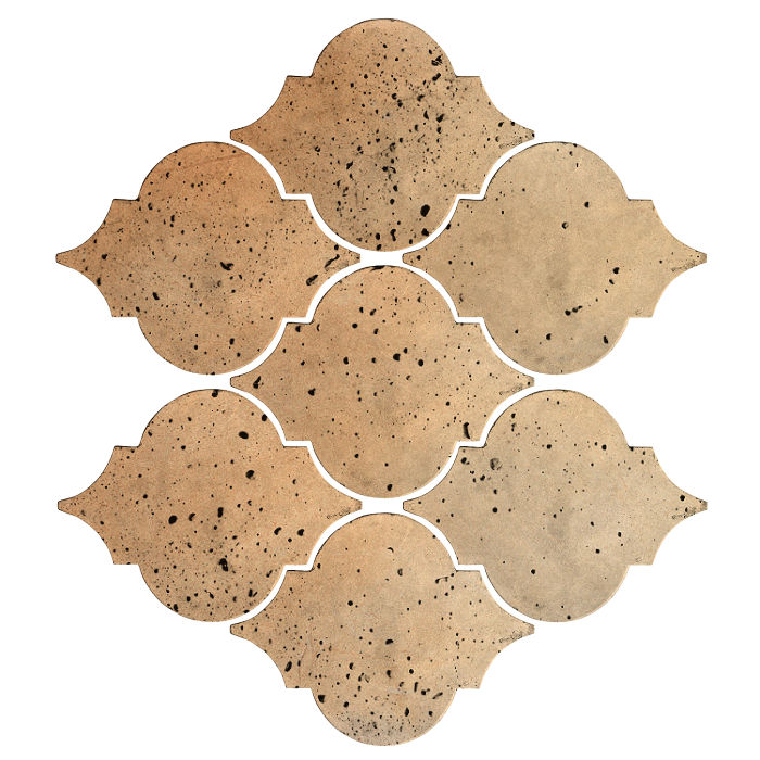 Artillo Arabesque 5A Hacienda Flash Travertine