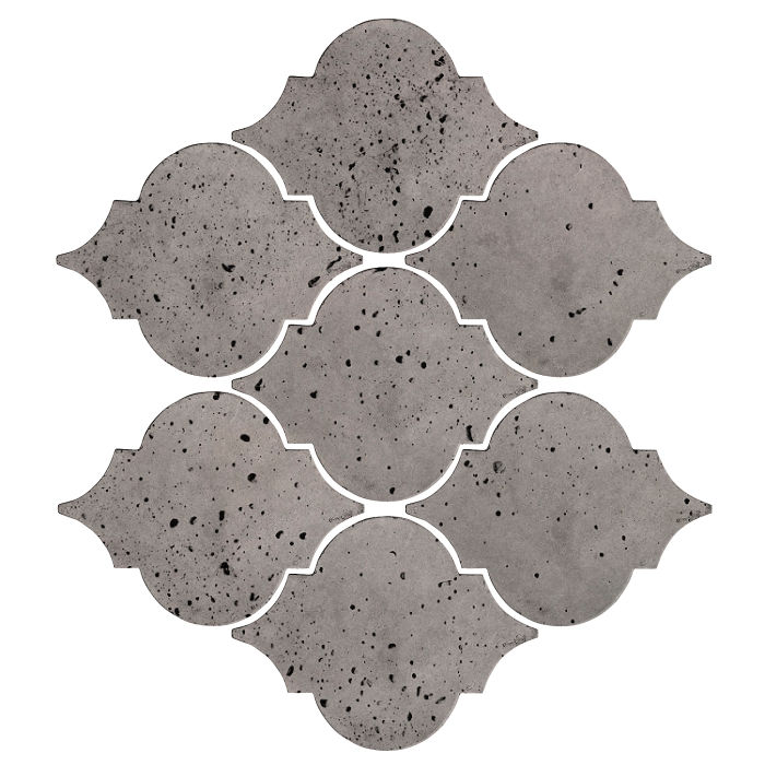 Artillo Arabesque 5A Sidewalk Gray Travertine