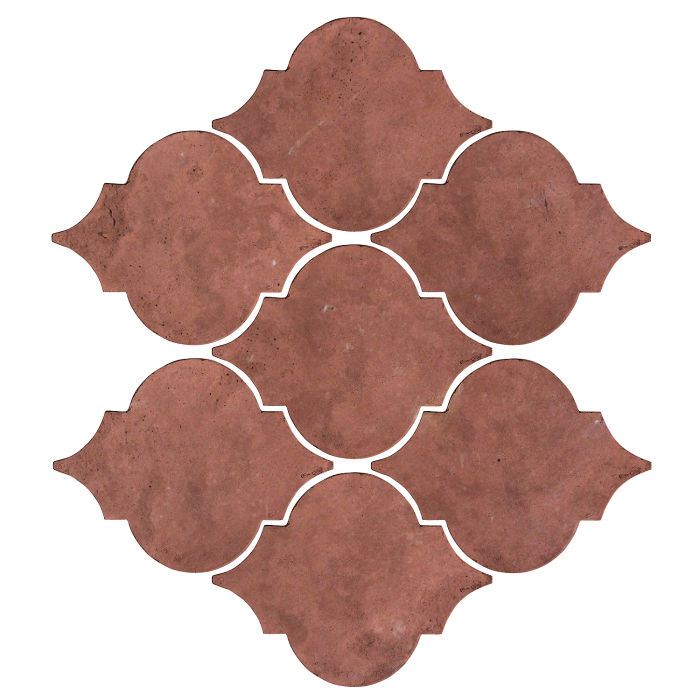 Artillo Arabesque 5A Spanish Inn Red Limestone