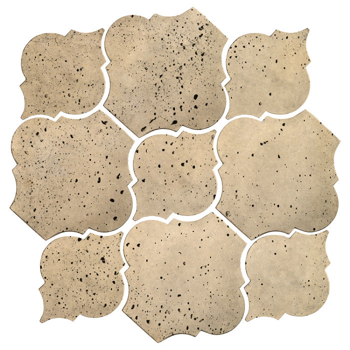 Artillo Arabesque 5B Bone Travertine