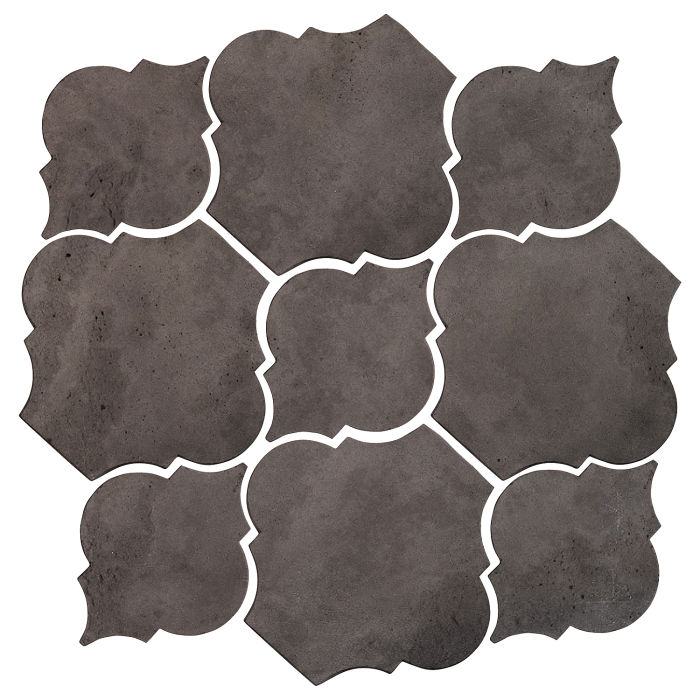 Artillo Arabesque 5B Charcoal Limestone
