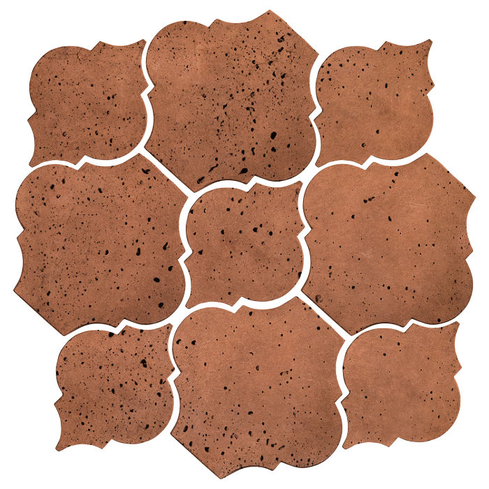 Artillo Arabesque 5B Cotto Gold Travertine
