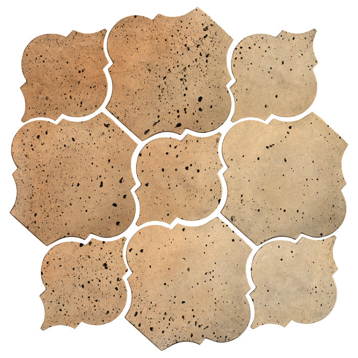 Artillo Arabesque 5B Hacienda Flash Travertine