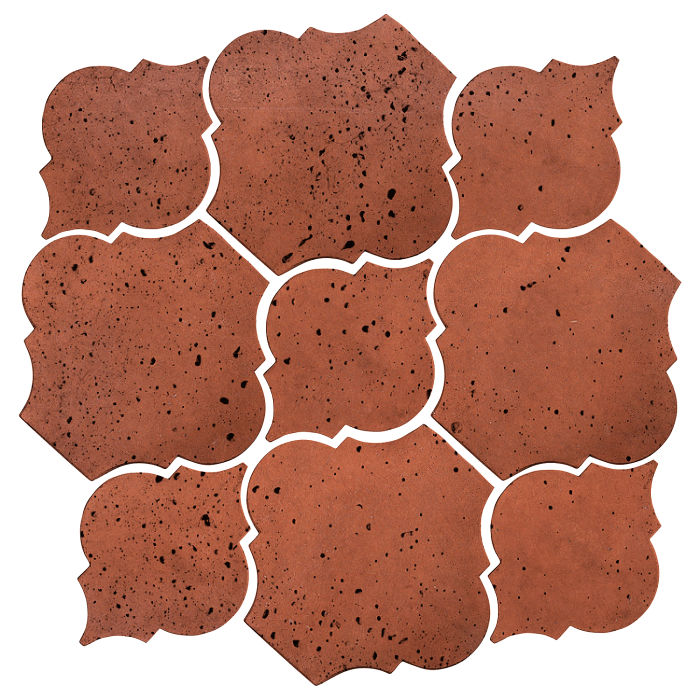 Artillo Arabesque 5B Mission Red Travertine