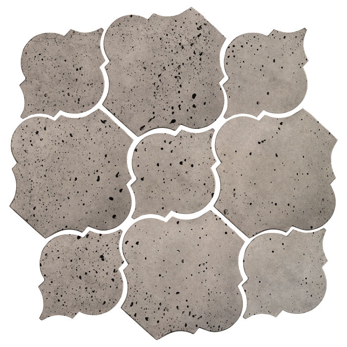 Artillo Arabesque 5B Natural Gray Travertine
