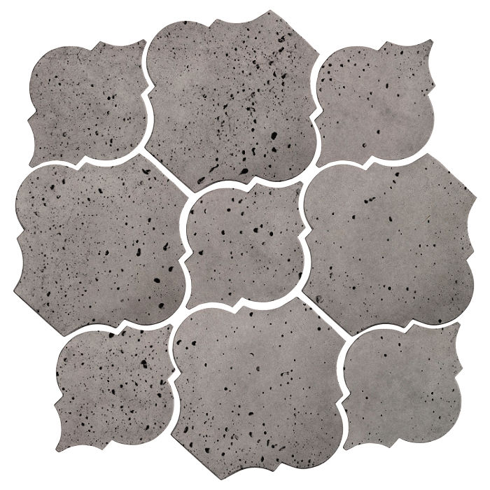 Artillo Arabesque 5B Sidewalk Gray Travertine