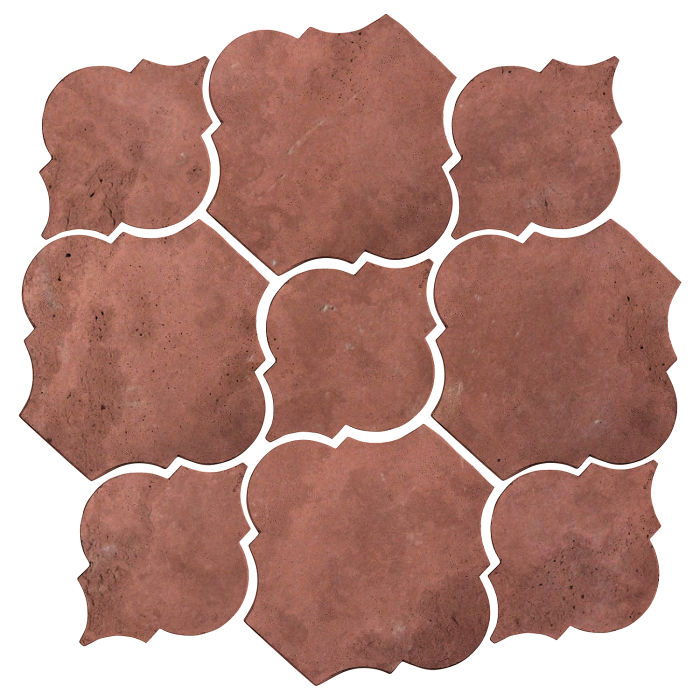 Artillo Arabesque 5B Spanish Inn Red Limestone