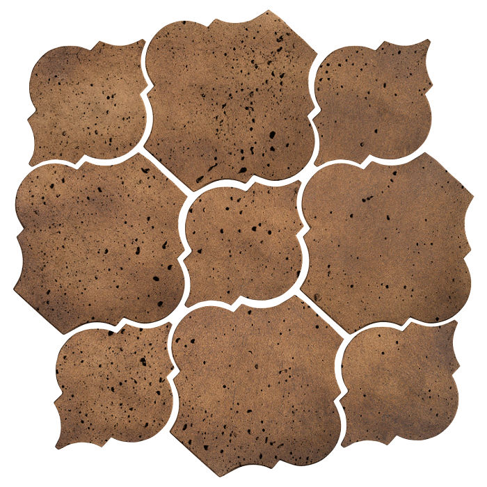 Artillo Arabesque 5B Tuscan Mustard Travertine