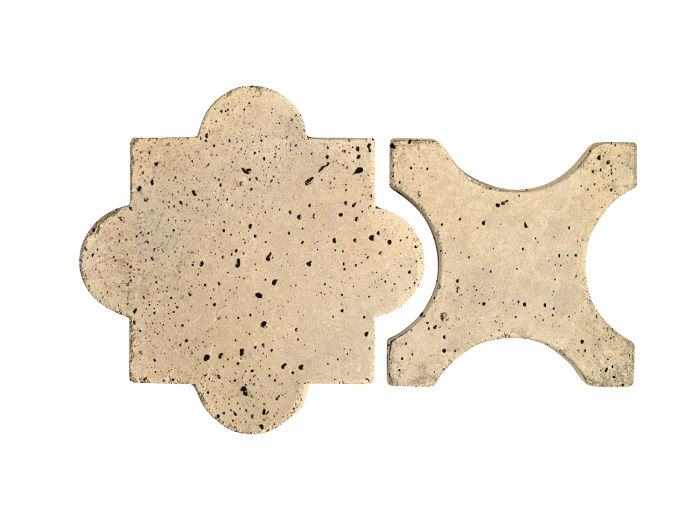 Artillo Arabesque 8A Bone Travertine