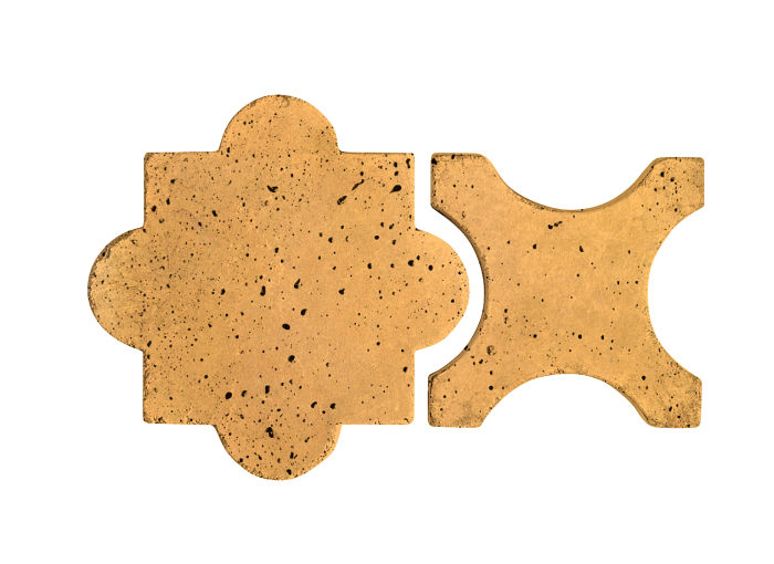 Artillo Arabesque 8A Buff Travertine