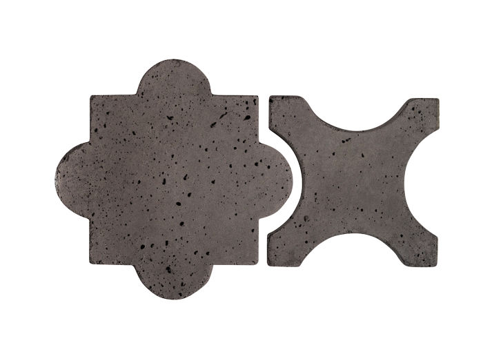 Artillo Arabesque 8A Charcoal Travertine