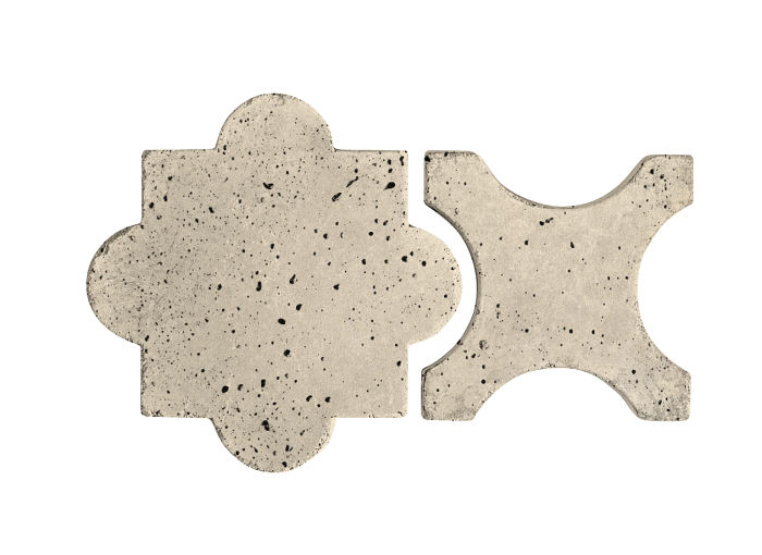 Artillo Arabesque 8A Early Gray Travertine