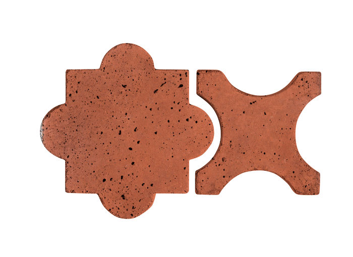 Artillo Arabesque 8A Mission Red Travertine