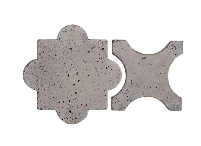 Artillo Arabesque 8A Sidewalk Gray Travertine