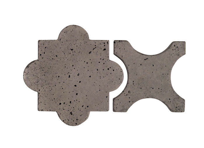 Artillo Arabesque 8A Smoke Travertine