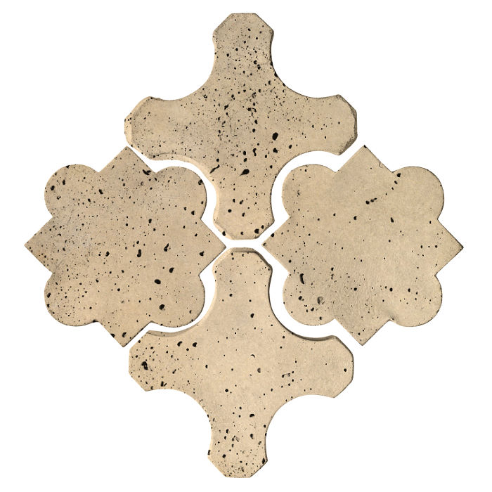 Artillo Arabesque 8B Bone Travertine
