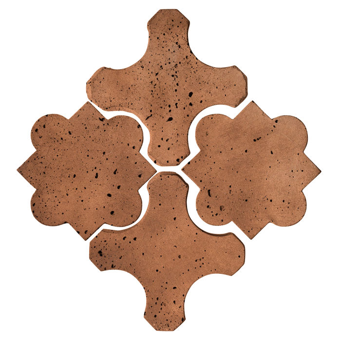 Artillo Arabesque 8B Cotto Dark Travertine