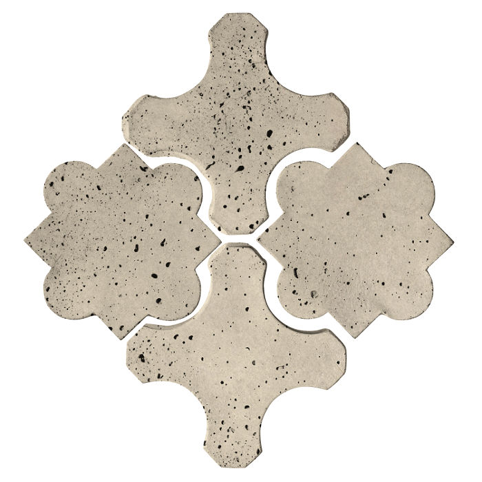 Artillo Arabesque 8B Early Gray Travertine