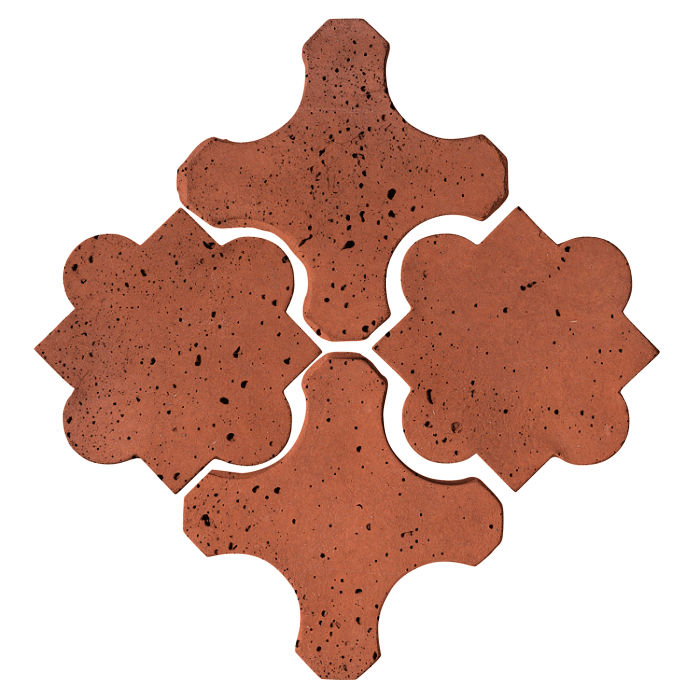 Artillo Arabesque 8B Mission Red Travertine