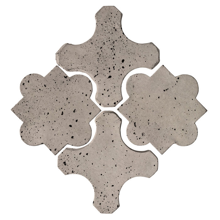 Artillo Arabesque 8B Natural Gray Travertine