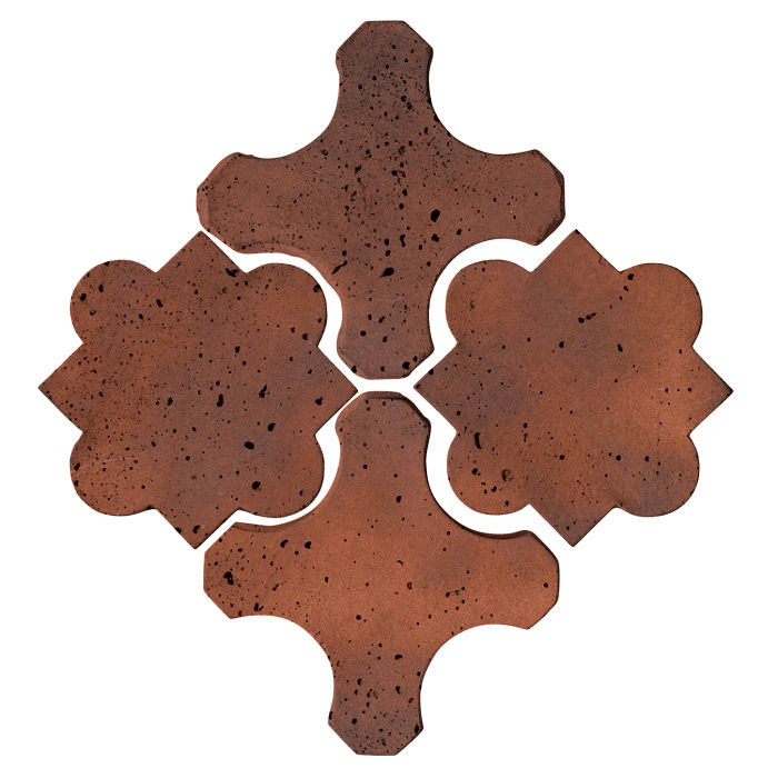 Artillo Arabesque 8B Red Flash Travertine