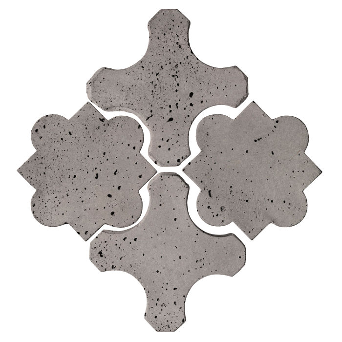 Artillo Arabesque 8B Sidewalk Gray Travertine