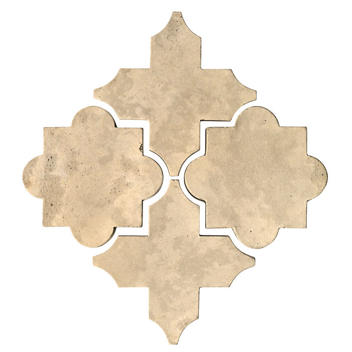 Artillo Arabesque 8C Bone Limestone