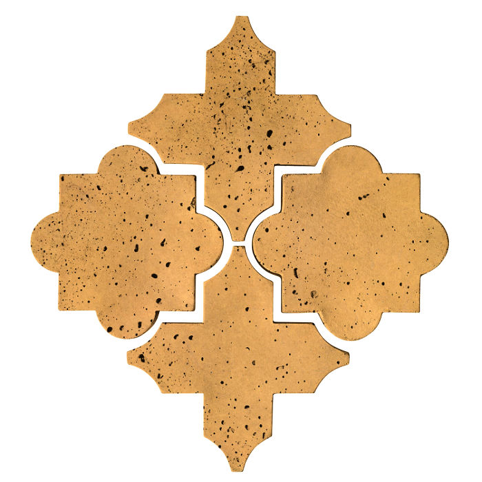 Artillo Arabesque 8C Buff Travertine
