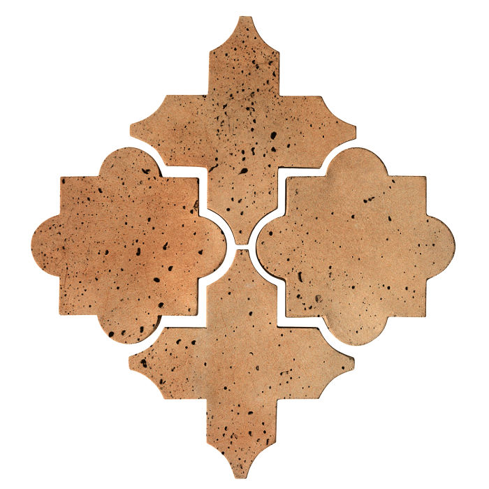 Artillo Arabesque 8C Cafe Olay Travertine