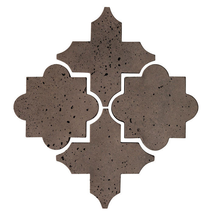 Artillo Arabesque 8C Charley Brown Travertine