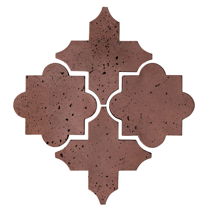 Artillo Arabesque 8C City Hall Red Travertine