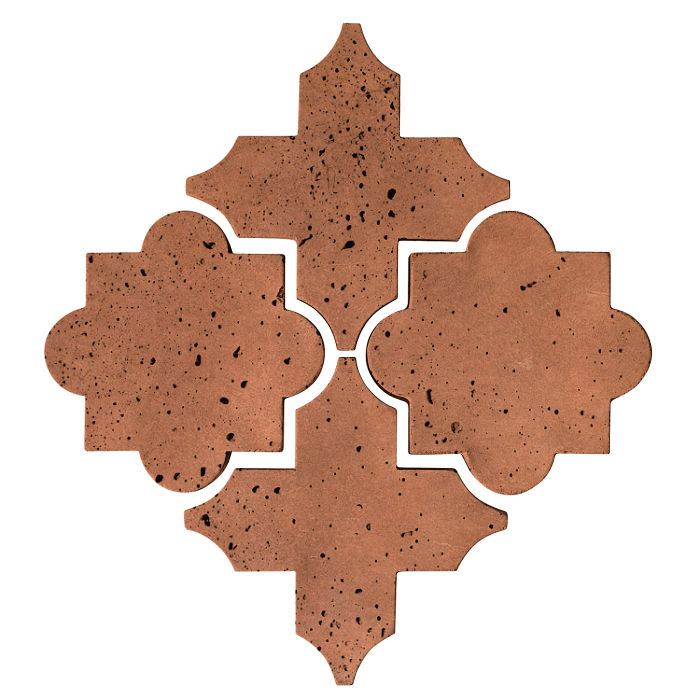 Artillo Arabesque 8C Cotto Gold Travertine