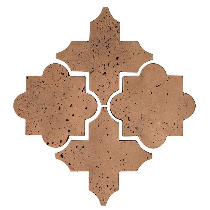 Artillo Arabesque 8C Flagstone Travertine