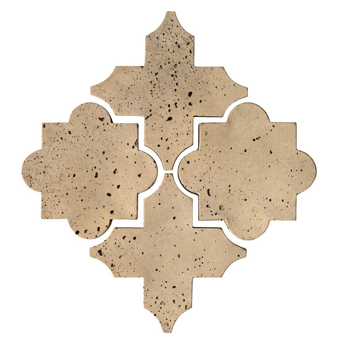 Artillo Arabesque 8C Hacienda Travertine