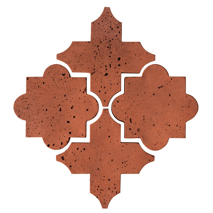 Artillo Arabesque 8C Mission Red Travertine