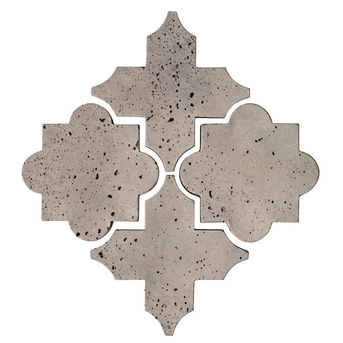 Artillo Arabesque 8C Natural Gray Travertine