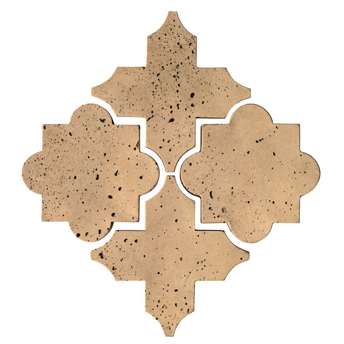 Artillo Arabesque 8C Old California Travertine