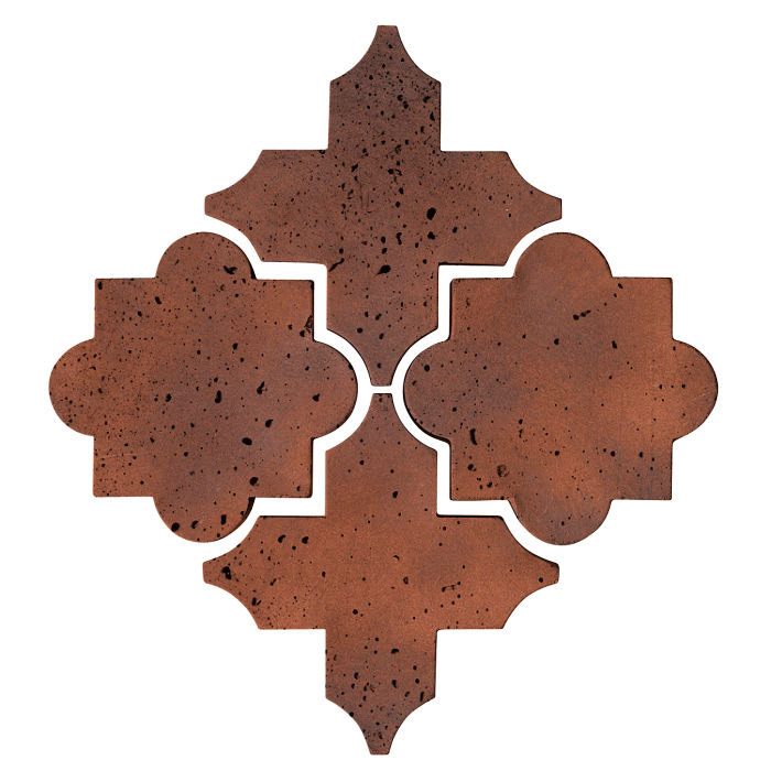 Artillo Arabesque 8C Red Flash Travertine
