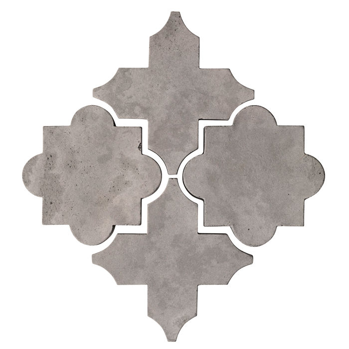 Artillo Arabesque 8C Sidewalk Gray Limestone