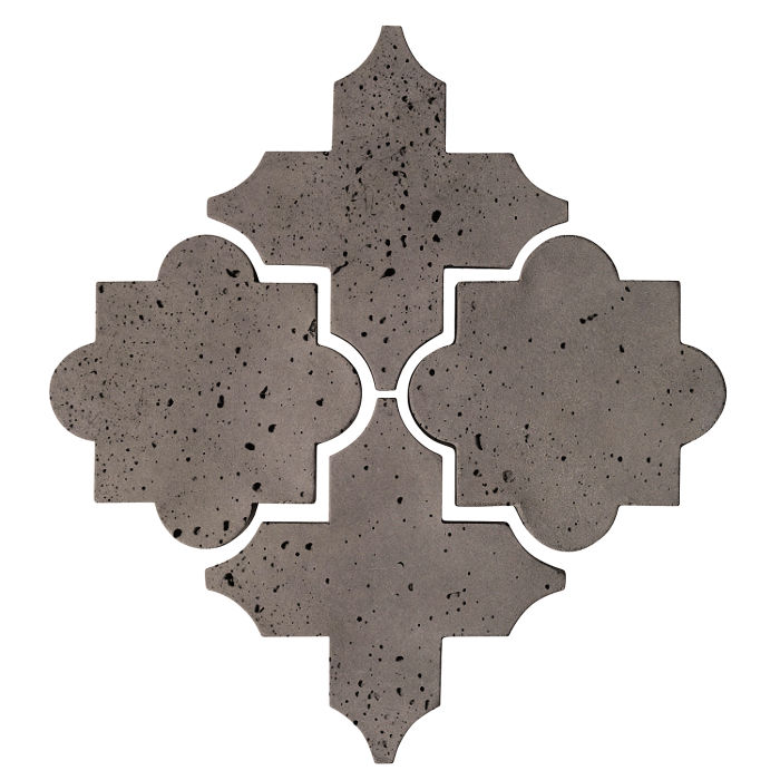 Artillo Arabesque 8C Smoke Travertine