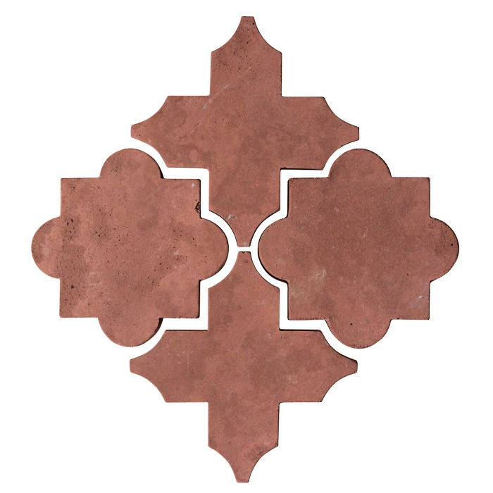 Artillo Arabesque 8C Spanish Inn Red Limestone