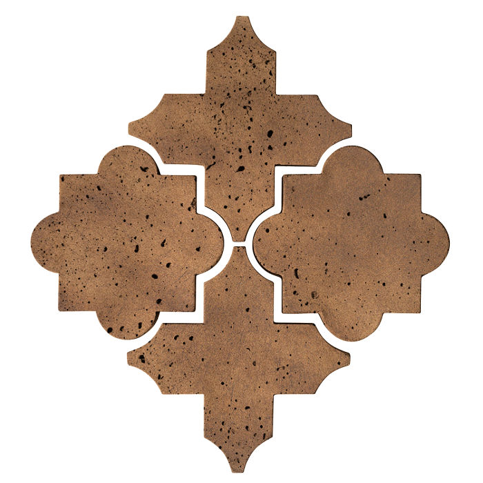 Artillo Arabesque 8C Tuscan Mustard Travertine
