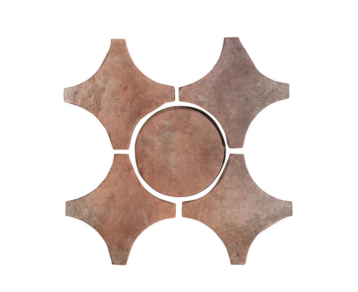 Artillo Arabesque 9A Beachwood Flash Limestone
