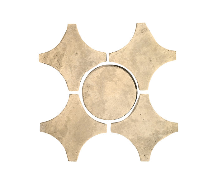 Artillo Arabesque 9A Bone Limestone